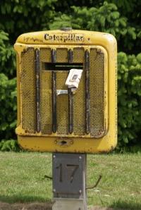 Caterpillar Postbox, Arthur's Point, NZ