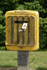 Caterpillar Postbox, Arthur's Point, NZ