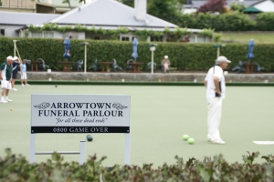 Arrowtown Bowling, may not be good for you