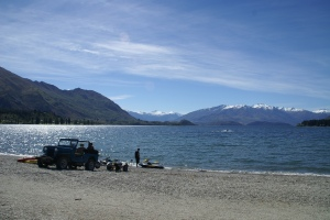 Lake Wanaka on a Summer's Day