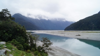 We will miss these views. Here the Haast River