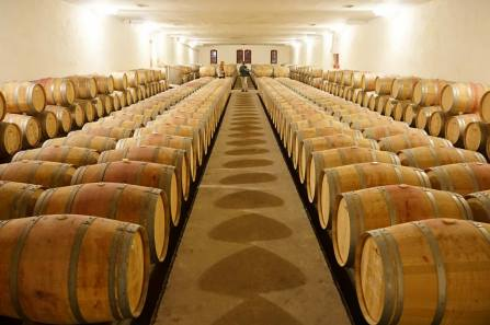 New wine barrels of beatiful French oak at Chateau Lanessan in the Haut Medoc. The contents are rather pleasant too, fuelling this post...