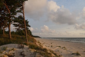 The beautiful Baltic coast, here north of Klaipeda at Bernati in Latvia.