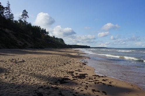 Jurkalne beach.