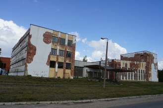 The Russians left behind the worst architectural mess. Shameful and cheap.
