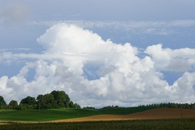 A Latvian Sky.