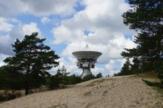 Zvedochka 32-metre listening antenna at Irbene, Lavtia