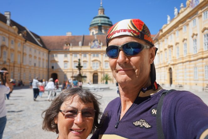 Cool looks at Melk monastery.