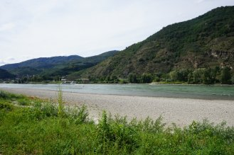 More dry Danube.