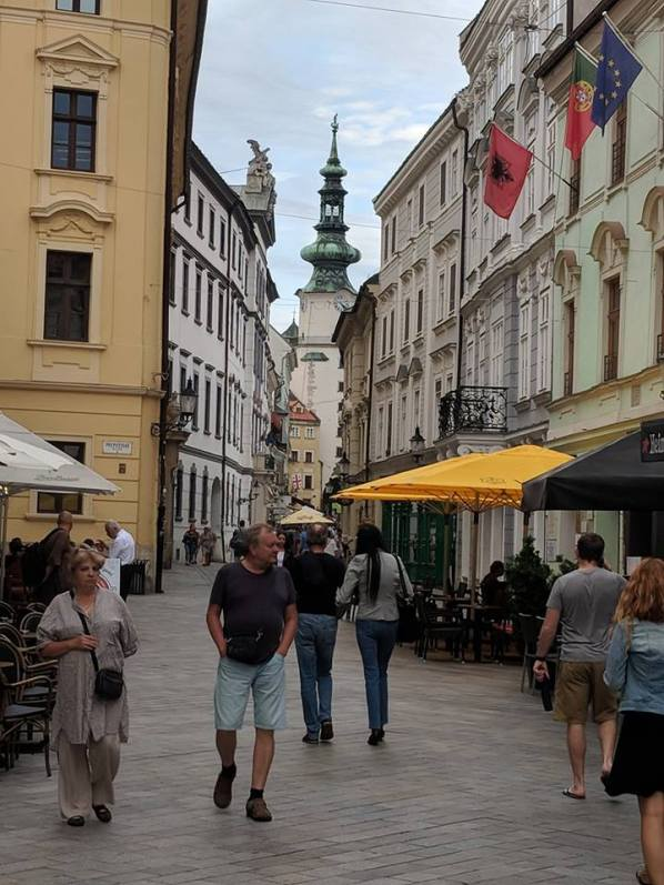 Bratislava. Seriously relaxed and delightful.